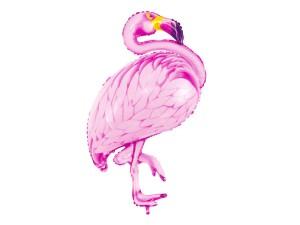 """Balony foliowe zwierzątka - Balon foliowy """"Flaming"""" / 70x95 cm"""