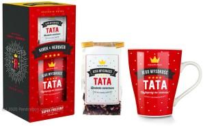 """Prezenty dla Taty - Zestaw kubek z herbatką """"Tata"""" / Royal"""