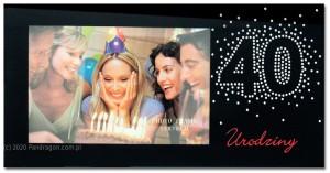 Ramki na zdjęcia - Ramka na zdjęcie na 40 urodziny / Harmony40 -2