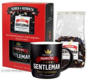 "Kubki - Zestaw kubek z herbatką ""Gentelman"" / Royal"