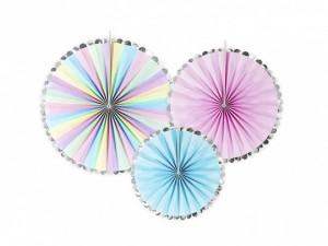 """Rozety dekoracyjne - Rozety dekoracyjne """"Jednorożec"""" / średnica 21,25 i 30 cm"""