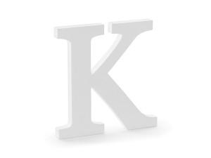 """Napisy drewniane - Drewniana litera """"K"""" / 19,5x20 cm"""