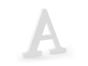"""Napisy drewniane - Drewniana litera """"A"""" / 21,5x20 cm"""