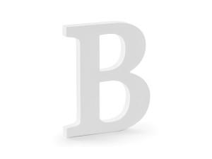 """Napisy drewniane - Drewniana litera """"B"""" / 16,5x20 cm"""