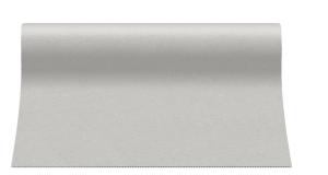 """Bieżniki flizelinowe gładkie - Bieżnik flizelinowy gładki AIRLAID """"Basic"""", jasny szary / 40cmx24m"""