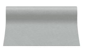 """Bieżniki flizelinowe gładkie - Bieżnik flizelinowy gładki AIRLAID """"Basic"""", szary / 40cmx24m"""