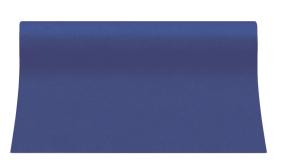 """Bieżniki flizelinowe gładkie - Bieżnik flizelinowy gładki AIRLAID """"Basic, granat / 40cmx24m"""