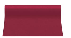 """Bieżniki flizelinowe gładkie - Bieżnik flizelinowy gładki AIRLAID """"Basic"""", bordowy / 40c,x24m"""