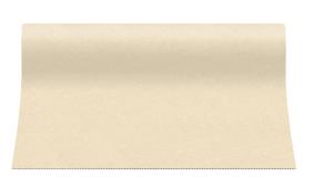 """Bieżniki flizelinowe gładkie - Bieżnik flizelinowy gładki AIRLAID """"Basic"""", ecru / 40cmx24m"""