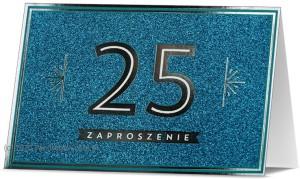 Zaproszenia na rocznicę - Zaproszenia na 25 Rocznicę Ślubu / Z.STAR-28