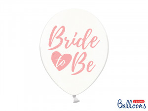 "Balony na Wieczór Panieński - Balony na panieński ""Bride to be"" / SB14C-205-099P-6"