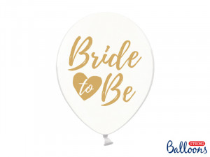 "Balony na Wieczór Panieński - Balony na panieński ""Bride to be"" / SB14C-205-099G-6"