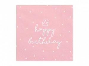 """Serwetki papierowe z napisami - Serwetki """"Happy Birthday"""" / SP33-15-081J"""