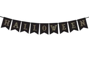"""Dekoracje na Halloween do powieszenia - Girlanda """"Halloween"""" / GRL47"""