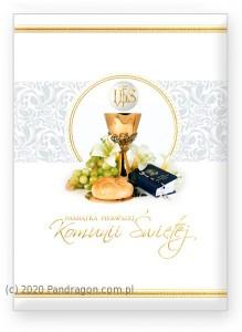 """Kartki i pamiątki i komunijne - Album Komunijny książeczka """"Pamiątka I Komunii Świętej"""" 58.11.13.0 / 36-5"""