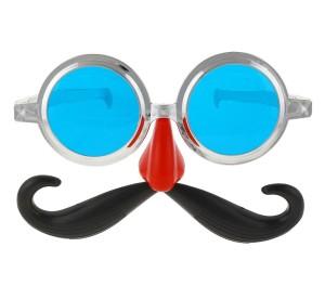 Okulary - Okulary Jumbo z wąsami