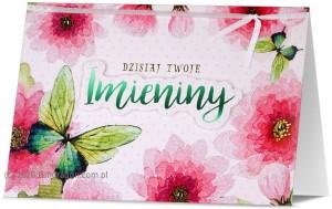 Kartki Imieninowe - Karnet z okazji imienin / HM200-1528
