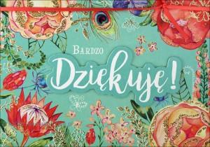 """Kartki okolicznościowe uniwersalne - Karnet """"Dziękujemy"""" / HM200-1291"""