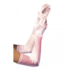 Rękawiczki - Rękawiczki jasnoróżowe / 16BP