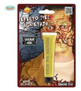Kremy do makijażu - Krem imitujący zmarszczki Zombie, żółty
