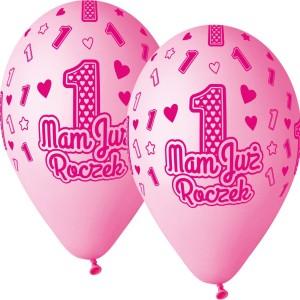 Balony lateksowe cyfry i liczby