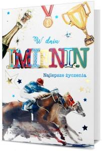 Kartki Imieninowe - Karnet z okazji imienin / HM-200-1757