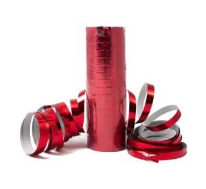 Serpentyny zwykłe - Serpentyna metalizowana czerwona / SH24CZ-VT