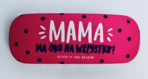 """Prezenty dla Mamy - Etui na okulary Lady """"Mama"""""""
