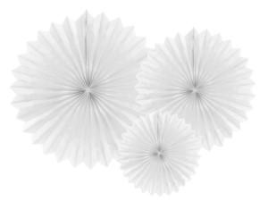 Rozety dekoracyjne - Rozety dekoracyjne, biały / średnica 20,30 i 40 cm