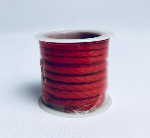 Sznurki dekoracyjne - Sznurek czerwony / 2 m