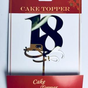 Figurki i toppery na tort na 18 urodziny
