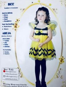 """Stroje dla dziewczynek - Strój """"Pszczółka"""" / 80-92 cm"""
