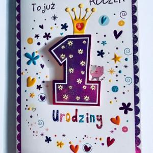 Kartki na urodziny dla dziewczynki