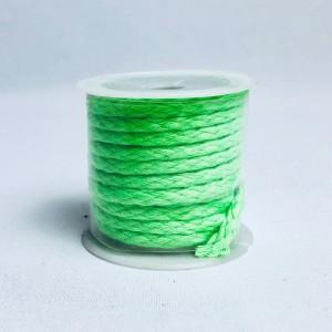 Sznurki dekoracyjne - Sznurek zielony / 2 m