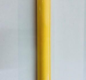 Obrusy jednokolorowe papierowe - Obrus papierowy w rolce, żółty / 1,18x6 m