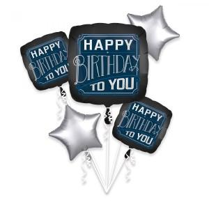 """Zestawy balonów na urodziny dorosłych - Zestaw balonów na urodziny """"Happy Birthday to You"""""""