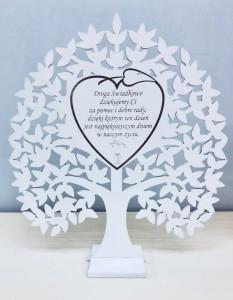 Podziękowania dla świadków - Drzewko dla Świadkowej