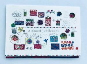 Kartki na jubileusz - Kartka z Okazji Jubileuszu / 300884