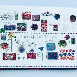 Kartki na jubileusz