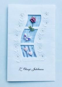 Kartki na jubileusz - Karnet z Okazji Jubileuszu / HM-100-243