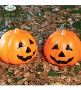 """Dekoracje na Halloween do postawienia - Lampion na  Halloween """"Dynia"""" LED / 15 cm"""