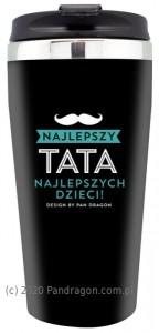 """Prezenty dla Taty - Kubek termiczny """"Najlepszy Tata"""""""