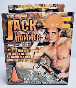 Prezenty na Wieczór Panieński - Facet Jack Hammer z wibratorem