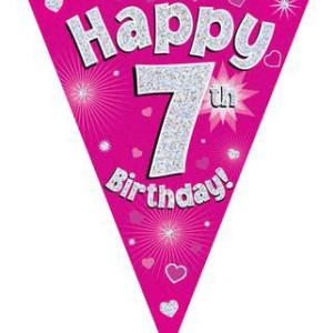 Dekoracje na 7 urodziny