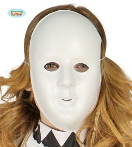 Maski Protestu - Maska biała, PVC