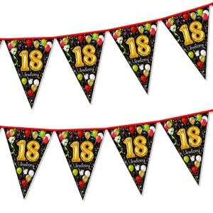 """Girlandy cyfry i liczby - Girlanda """"18 urodziny"""" / CH18"""
