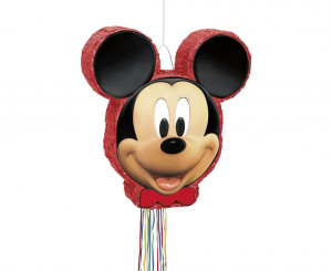 Piniaty kształty - Piniata Myszka Mickey / 50x46 cm