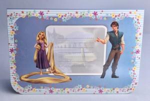 Kartki urodzinowe - Karnet 3D Zaplątana