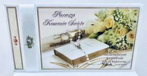 "Kartki i pamiątki i komunijne - Album na Komunię ""Pamiątka I Komunii Świętej"" / K4B2"