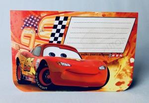 """Kartki urodzinowe - Karnet 3D """"Auta"""""""
